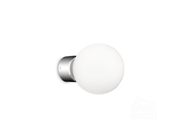 Koupelnové nástěnné svítidlo Philips Drops 34053/11/16. Nástěnné svítidlo Philips myBathroom Drops přetéká jednoduchou dokonalostí. Se svým difuzérem z vysoce kvalitního skla a chromovanou základnou ukazuje toto krásné svítidlo pleť ve správném odstínu a současně jasně osvětlí místnost.