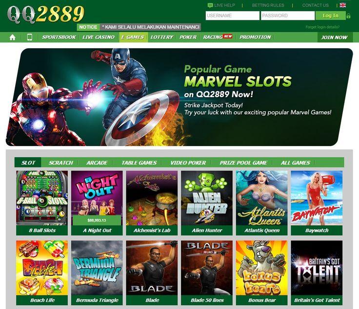 Sensasi Seru Bermain Slot Games Online Marvel di QQ2889