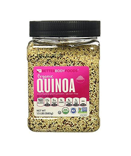 Quinoa | Once you have your cupboards stocked with these healthy ingredients,easy meals become faster and more fun to make. Bonus: we gathered everything for you in one place on Amazon tomake it even easier.