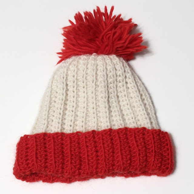Waldo Hat Tutorial - hat available for purchase at annesketch.etsy.com!