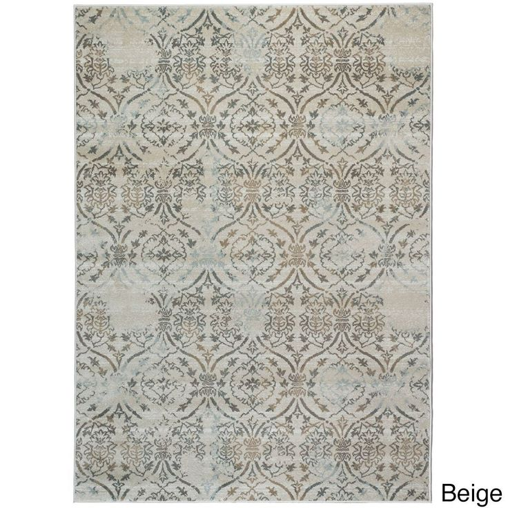 Admire Home Living Brazil Area Rug (5'3 x 7'3) (Beige 5'3 x 7'3) (Olefin, Abstract)