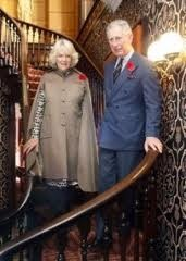 Dundurn Castle Hamilton Ontario - Prince Charles and Camilla ( a descendant of Camilla's owned the Castle, Sir Allen MacNab)