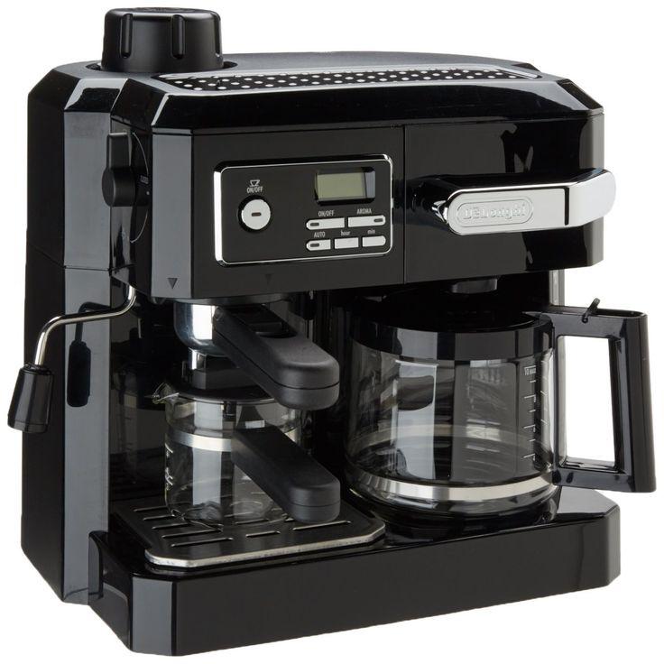 Amazon.com: DeLonghi BCO320T Combination Espresso and Drip Coffee- Black: Combination Coffee Espresso Machines: Kitchen & Dining
