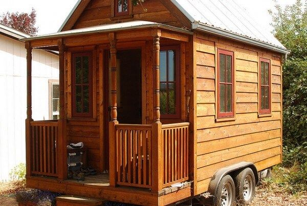 If you're thinking about building a small cabin or a tiny house, check out these free tiny house plans available in PDF that you can download and print out.