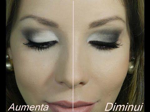 Como aumentar ou diminuir os olhos