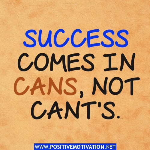 motivational success quotes cans wise sayings pinterest