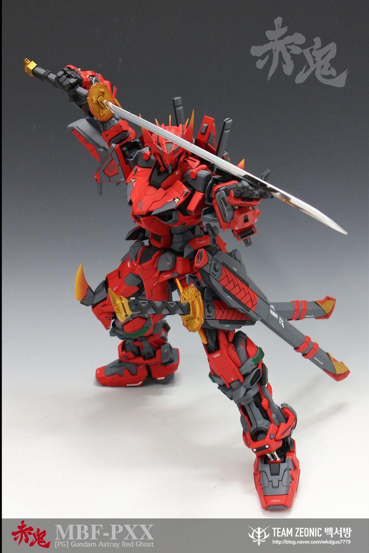 GUNDAM GUY: PG 1/60 Gundam Astray Red Ghost - Custom Build