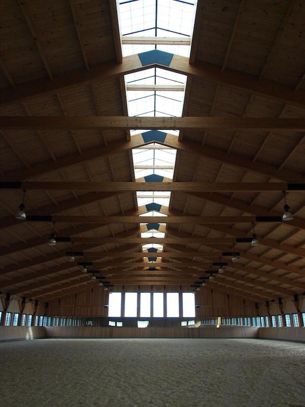 Virginia Barn Indoor arena