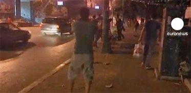 Enfrentamientos en Egipto a causa de guerra en Siria, mire un video en @HoyComEc