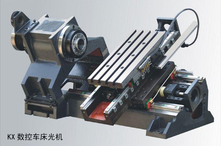 slant cnc lathe machine frame diy customer-made oblique linear guider ball screw spindle a2-3 bare machine metal lathe