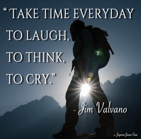Jimmy V's famous quote.