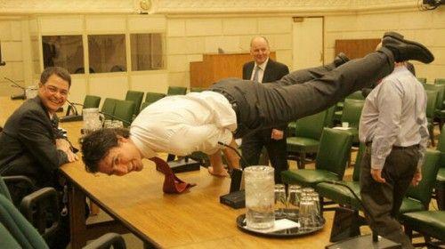 Justin Trudeau, Canada's Near-Perfect Peacock-Posing Prime Minister
