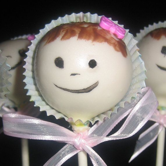 BABY CAKE POPS It's a Girl Cake Pops It's a by cakepopsbymaggie, $30.00