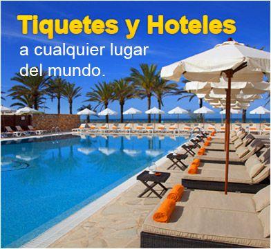 Tiquetes y Hoteles a cualquier lugar del mundo. Ver mas en http://www.viajeprogramado.com/index.php