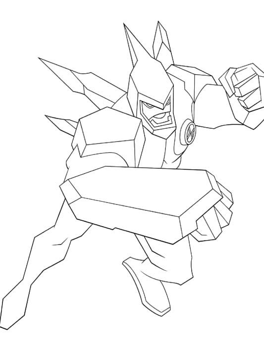 21 Best Ben 10 Coloring Page Images On Pinterest
