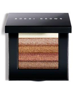 Bobbi Brown Shimmer Brick Compact - Bronze - I use it across my lids