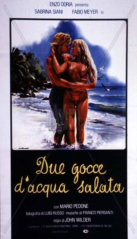 Due gocce d'acqua salata -  #dvd by #DVDlab  Distributed by #CecchiGoriHomeVideo  Follow DVDlab on #Facebook -> https://www.facebook.com/pages/DVDlab/19069528431  #film #bluray #bd #graphic #cecchigori #homevideo
