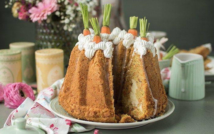 Carrot Cake mit Cheesecake-Kern und ein neuer Liebling im Netz