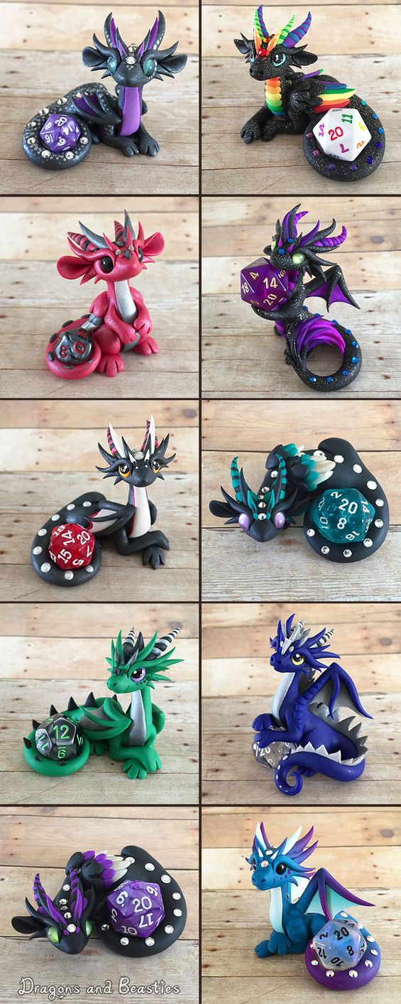 Dice Dragon Sale April 10th by DragonsAndBeasties on DeviantArt