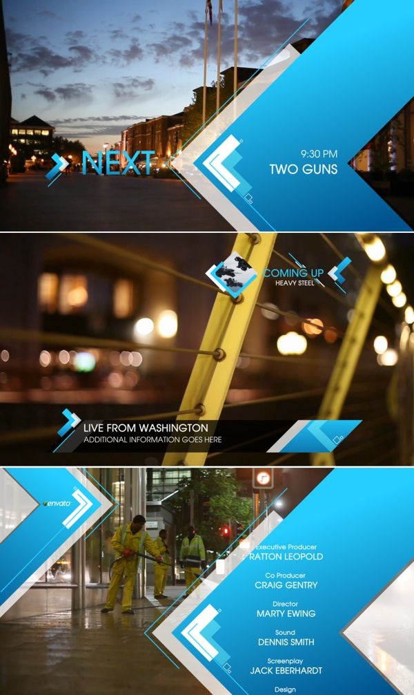 Arrows Broadcast Package by Perry Cox, via Behance
