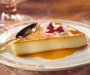 This caramel-topped custard, a popular Spanish dessert, makes a delicious ending to any meal.