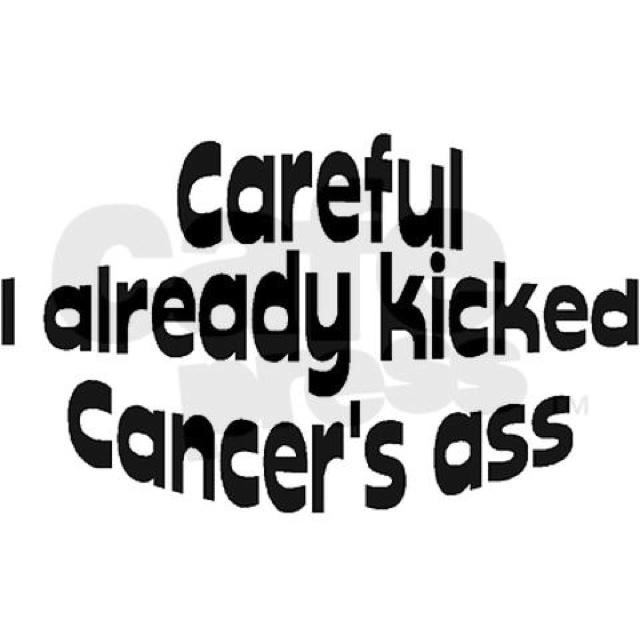 Breast cancer survivor...That's ME...