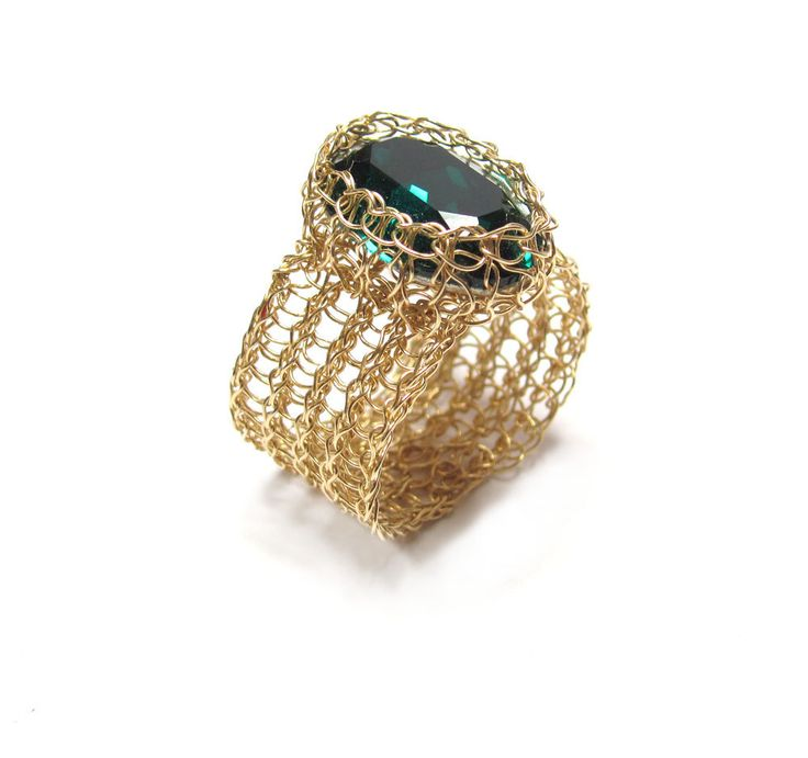 The 184 best wire crochet rings & pendants images on Pinterest ...