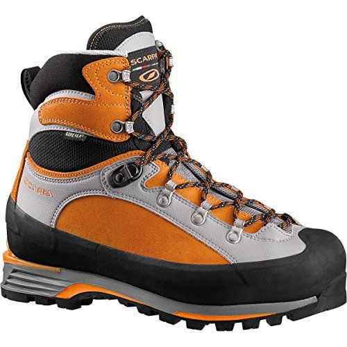 Scarpa Triolet Pro GTX Mountaineering Boot - Men's Mango, 40.0 * You can get more details by clicking on the image. #FootwearAccessories
