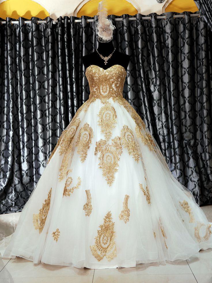 Gaun Wedding 208-808 Bahan Tile dgn Brokat, ready stock lsg kirim.  Hub Hp 08127849402