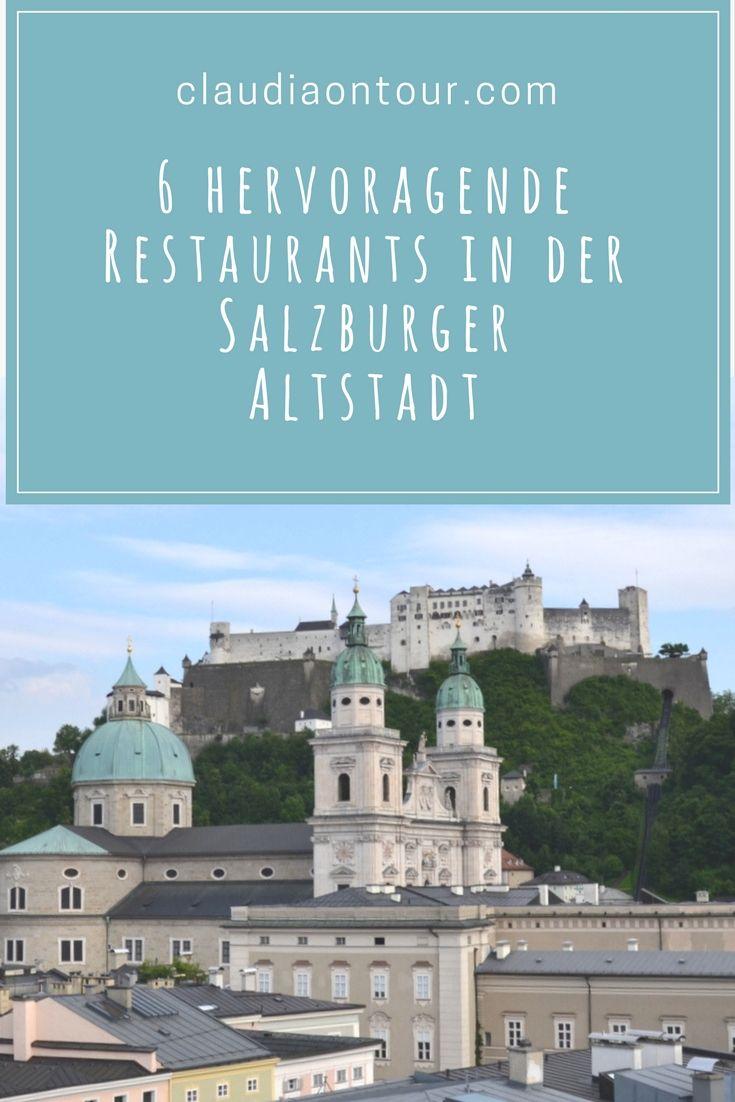 Restaurant Empfehlungen für die Altstadt in  Salzburg