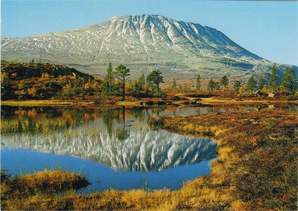 Norge - Norway Gaustatoppen
