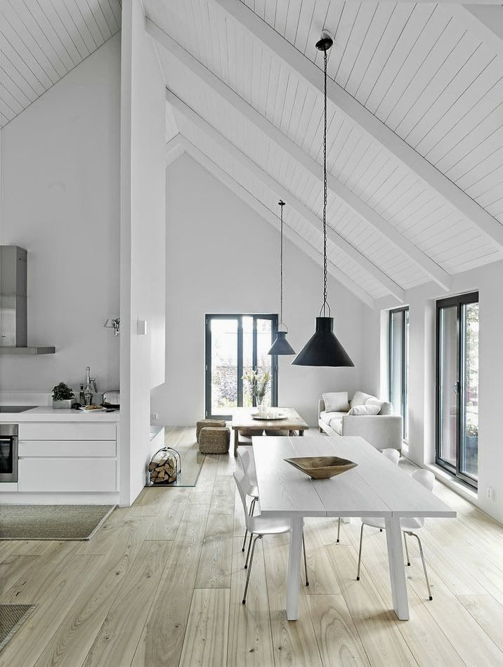 Clean lines, lots of space, minimal decorating... love. See more interior inspiration on our blog: http://www.lujo.co.nz/blogs/lujo-inspiration-blog/15050449-interior-inspiration