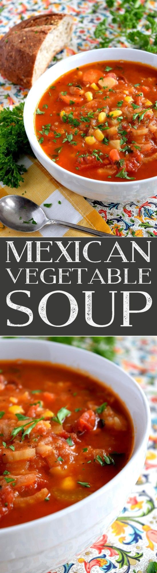 The pleasant flavours of Mexican Vegetable Soup are sure to keep you warm and cozy during the colder days of winter. Made with common root vegetables and flavoured with Mexican-inspired spices, a big bowl of this soup is sure to…