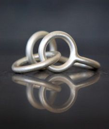 I'm not normally one for rings but I just love this one 'MixedUp' by Jenny Kårberg. It's from her collection of jewellery that is playing with shapes and colours in unexpected combinations and it also makes a wonderful sound when the hand moves. This definitely goes on my shopping list this week.