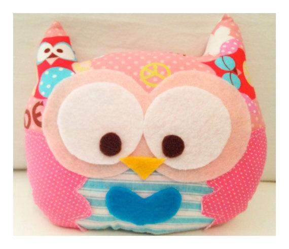 owl owl owl: Owl Pillows, Crafts Ideas, Owl Owl, Minis Dog Qu, Diy Crafts, Owl Crafts, Minis Owl, Owl Stuffy, Pink Peace