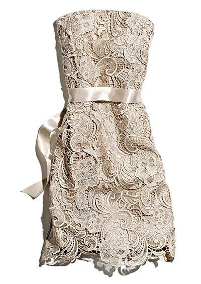 Gorgeous for wedding rehearsal or engagement party...