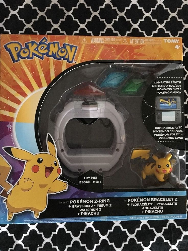 POKEMON Z-RING FOR NINTENDO 3DS/2DS  | eBay