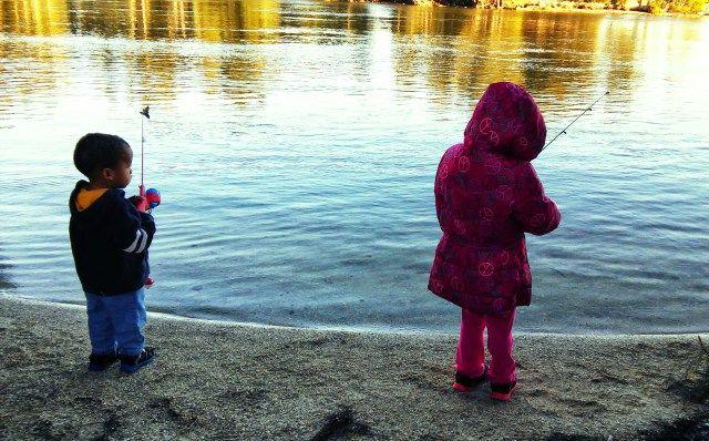 fishing babies