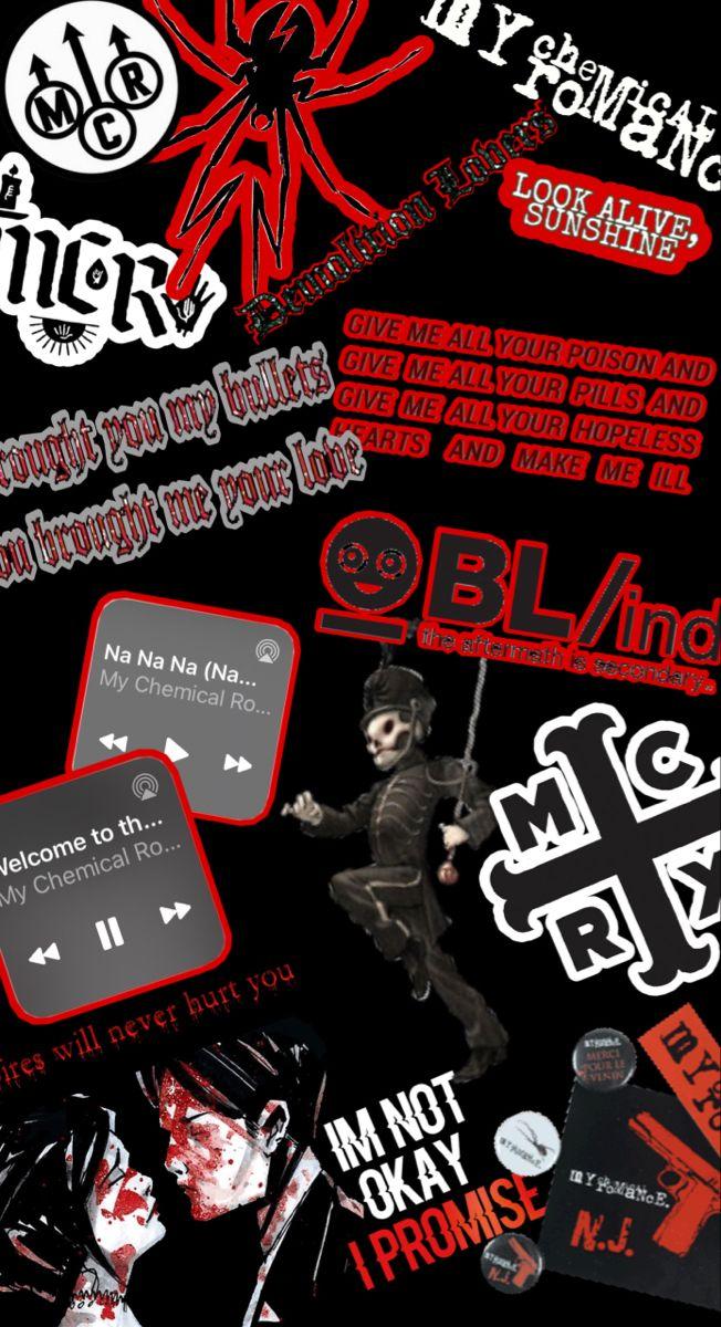 Mcr Phone Wallpaper My Chemical Romance Wallpaper My Chemical Romance Mcr Songs