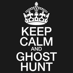 GhostStop Ghost Hunting Equipment - Keep Calm & Ghost Hunt T-Shirt