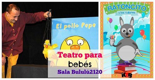 Cartelera de @Bululu2120 especial #bebes en #marzo: El pollo Pepe y Ratoncito y los colores  #teatro http://blgs.co/x0dfH6