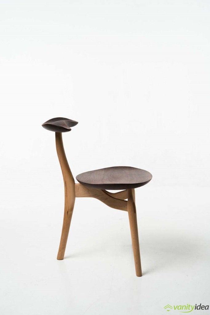 The Spire Table and The Trialog Chair, by Philipp von Hase