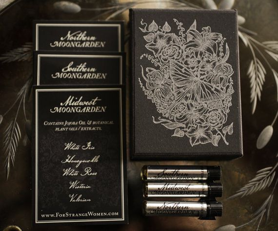 Hey, I found this really awesome Etsy listing at https://www.etsy.com/listing/255019405/moongarden-perfume-sample-set