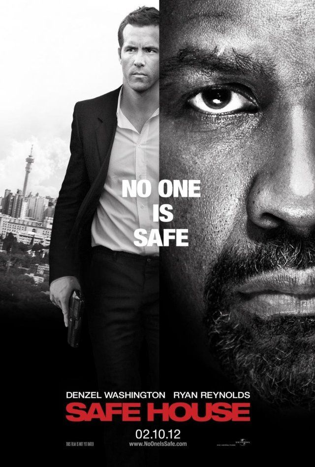 Safe House...not as good as I expected it to be, but definitely worth seeing