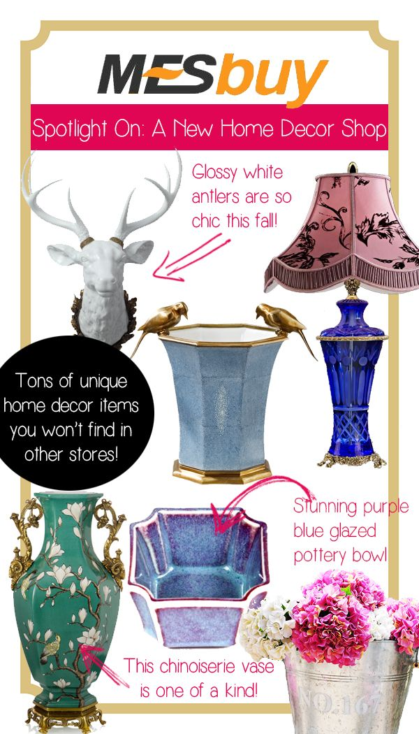 spotlight on mesbuy a new online home dcor store full of unique treasures - Home Decor Online Stores