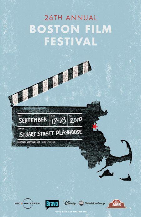 Boston Film Festival : Poster - RyanFrease.com