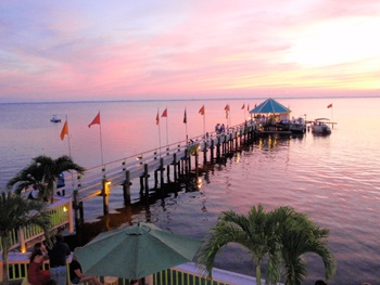 Sunset Bar And Grille In Duck OBX Great Location For An Outer Banks Wedding