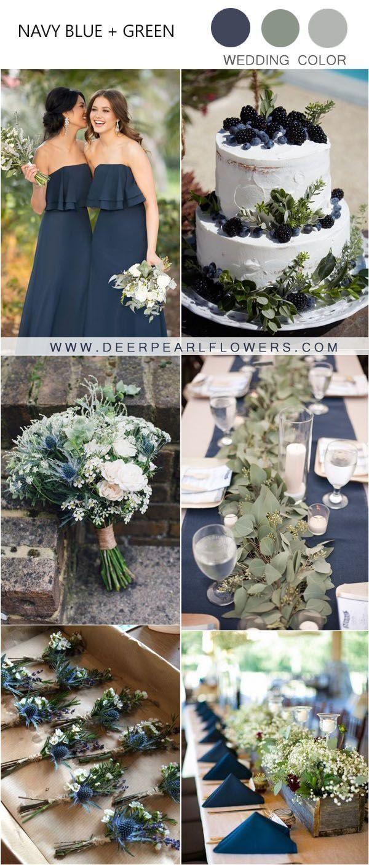 unglaublich 20 Herbst Marine und Grün Hochzeit Farbideen