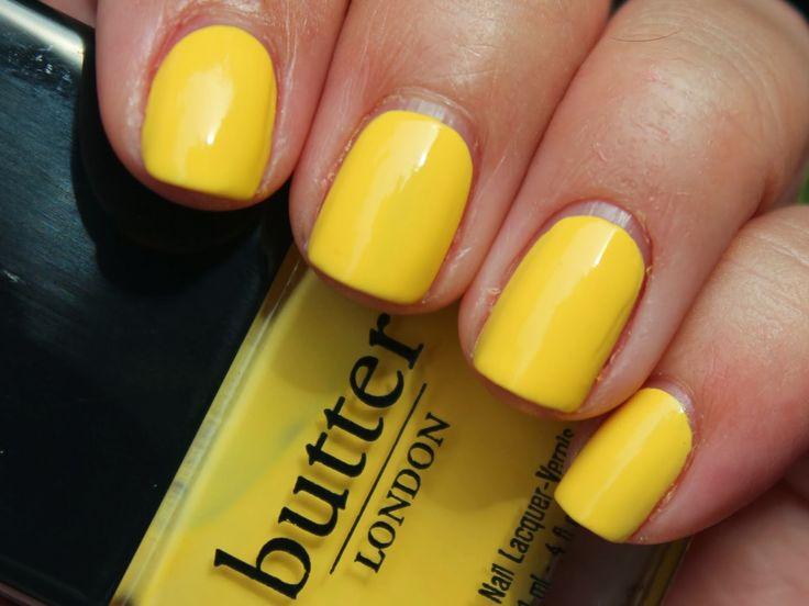 """Yellow"" - Butter London Cheeky Chops"