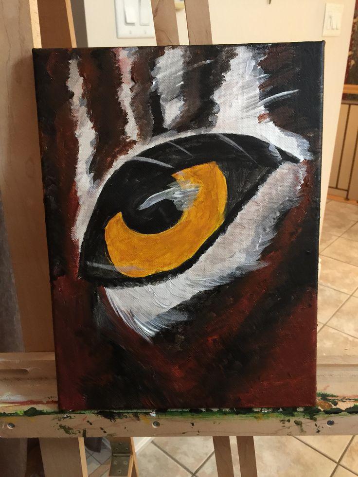 L'oeil du tigre !